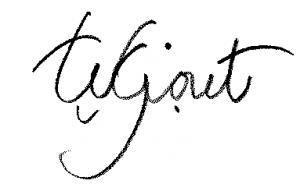 Têla's signature
